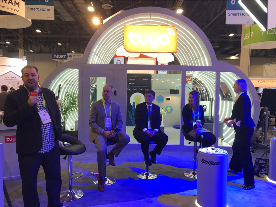 Zigbee Alliance, Tuya Smart and Simon, Speak at the Tuya Booth CES 2019